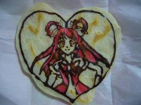 卵ナシです☆キャラクターホットケーキ♪
