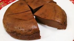 濃厚しっとり生チョコ風チーズケーキ