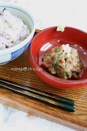 桜海老納豆