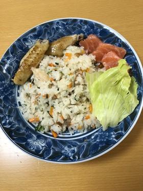 夏休み☆冷やご飯で艶つやピラフ