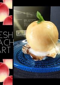 桃♡Fresh Peach tart