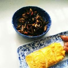ジャガイモとひじきの煮物