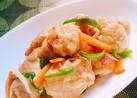 鶏胸肉♬野菜たっぷり旨タレ炒め
