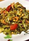 ミャンマー ☆お茶のサラダ