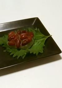 葛餅風夏菓子