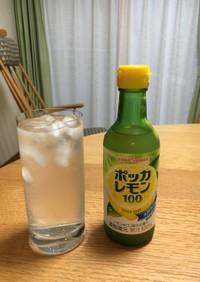 旨い!ポッカレモン100のレモンサワー