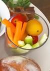 スティック野菜のサラダ