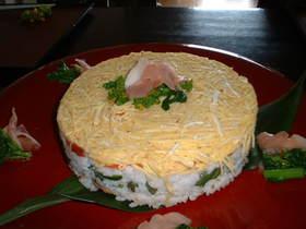 ひな祭り ケーキ寿司