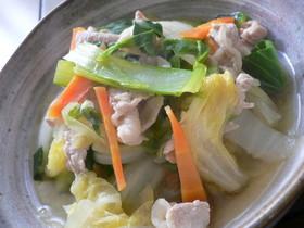 いつもの~白菜と豚肉の簡単煮物