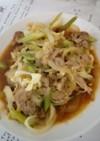 豚肉と野菜の焼き肉のタレ炒め。