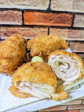 豚肉&チーズ巻きフライ♪
