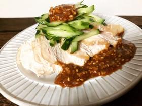 棒棒鶏のタレ材料4つ簡単美味しい^ ^