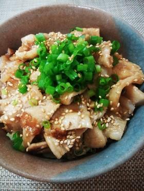 ☆豚肉スタミナ丼☆