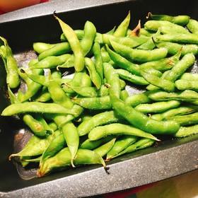 冷凍枝豆そのまんまで簡単焼き枝豆〜♡