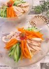 蒸し鶏 柚子胡椒 冷し中華 糖質制限