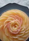 桃とヨーグルトのムースケーキ