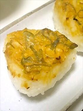 生姜ネギ味噌☆焼きおにぎり
