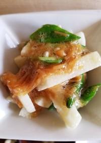 混ぜたら完成 5分でなめ茸と長芋の和え物