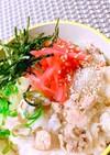 ♬豚肉と明太子の炊き込みご飯♬