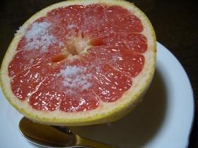 ★グレープフルーツの食べ方★