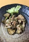夏に☆茄子と豚バラの味噌炒め