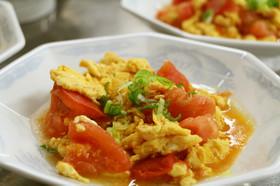 とろとろふんわり☆卵とトマトの中華風炒め
