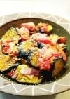 夏野菜のベーコン炒め
