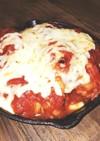 手羽元トマト煮込みチーズ焼き