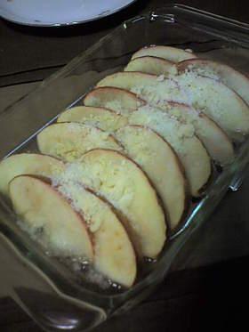 簡単あったかりんごのおやつ