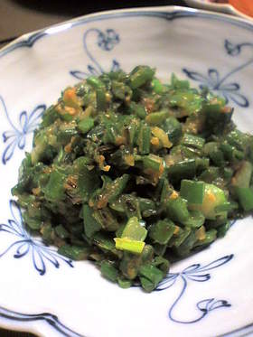 簡単おいしい葱味噌