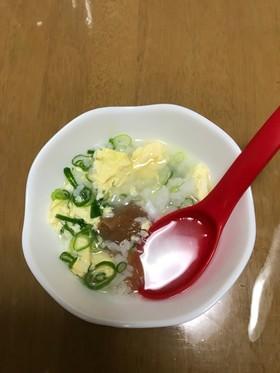 胃にやさしい卵雑炊☆ 夏風邪にも効く⁈
