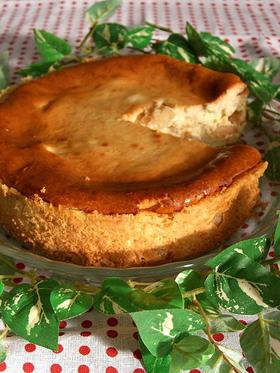 アップルシナモン入り☆チーズケーキ