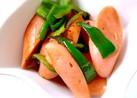 魚肉ソーセージとピーマンの炒め物♫