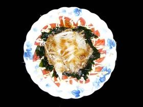 血液サラサラ。常備野菜のトマオニサラダ