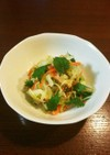 キャベツと大葉のゴマ中華サラダ