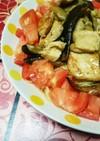 夏野菜と鶏肉のピリ辛素麺♪