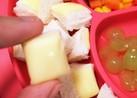手が汚れない簡単チーズパン 離乳食後期~