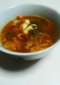 カレーの後のカレースープ