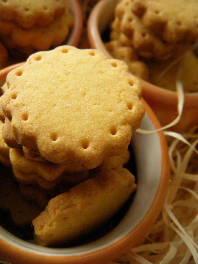 アレルギーさんのサクッとかぼちゃクッキー