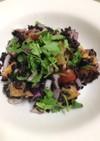 黒米のサラダ  カフェ風
