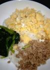 ★お弁当セットの鶏そぼろ&いり卵オーブン