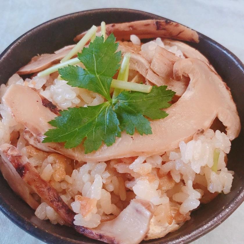 簡単!早く秋になってほしい!松茸ご飯