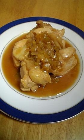 鶏の甘酢(すし酢バージョン)