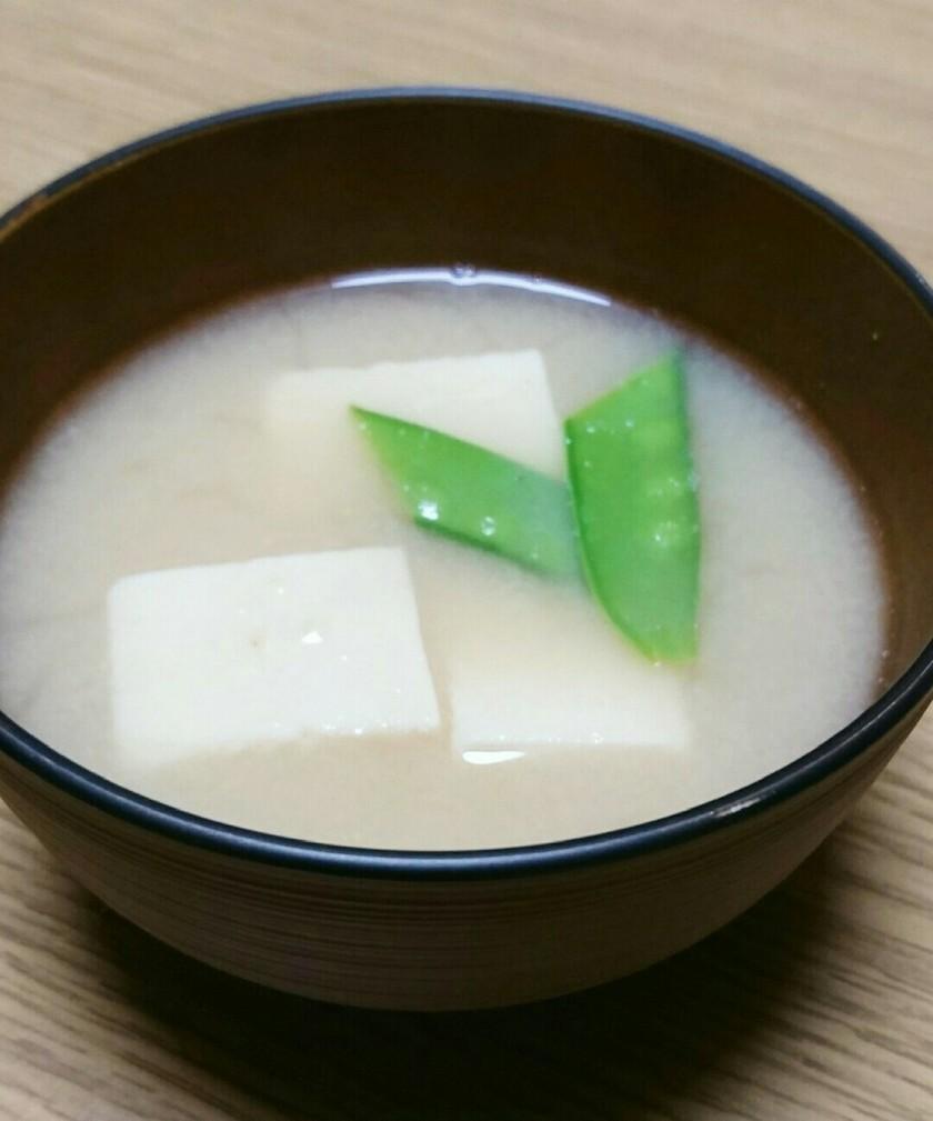 簡単❣❣高野豆腐の味噌汁~♡