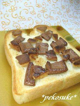 焼きチョコ&クッキー*トースト