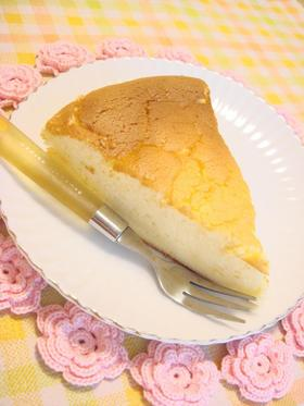 しぼみ解消チーズケーキ☆.。.:*・゜
