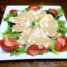 マスター特製簡単蒸し鶏サラダ