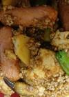 洋風、五目麻婆豆腐 丼