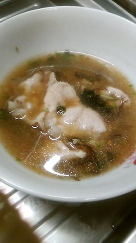 オクラがメインのねばねば、おいしいスープ