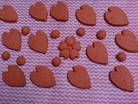 桜の花びらクッキー♡